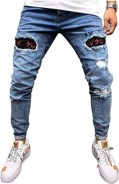 ضعيف حلاقة الثروة Pantalones Vaqueros Rotos Hombre Cabuildingbridges Org