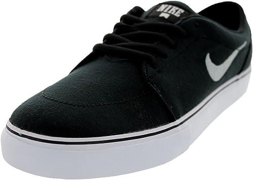 Nike Herren Satire Canvas Skaterschuhe, weiß