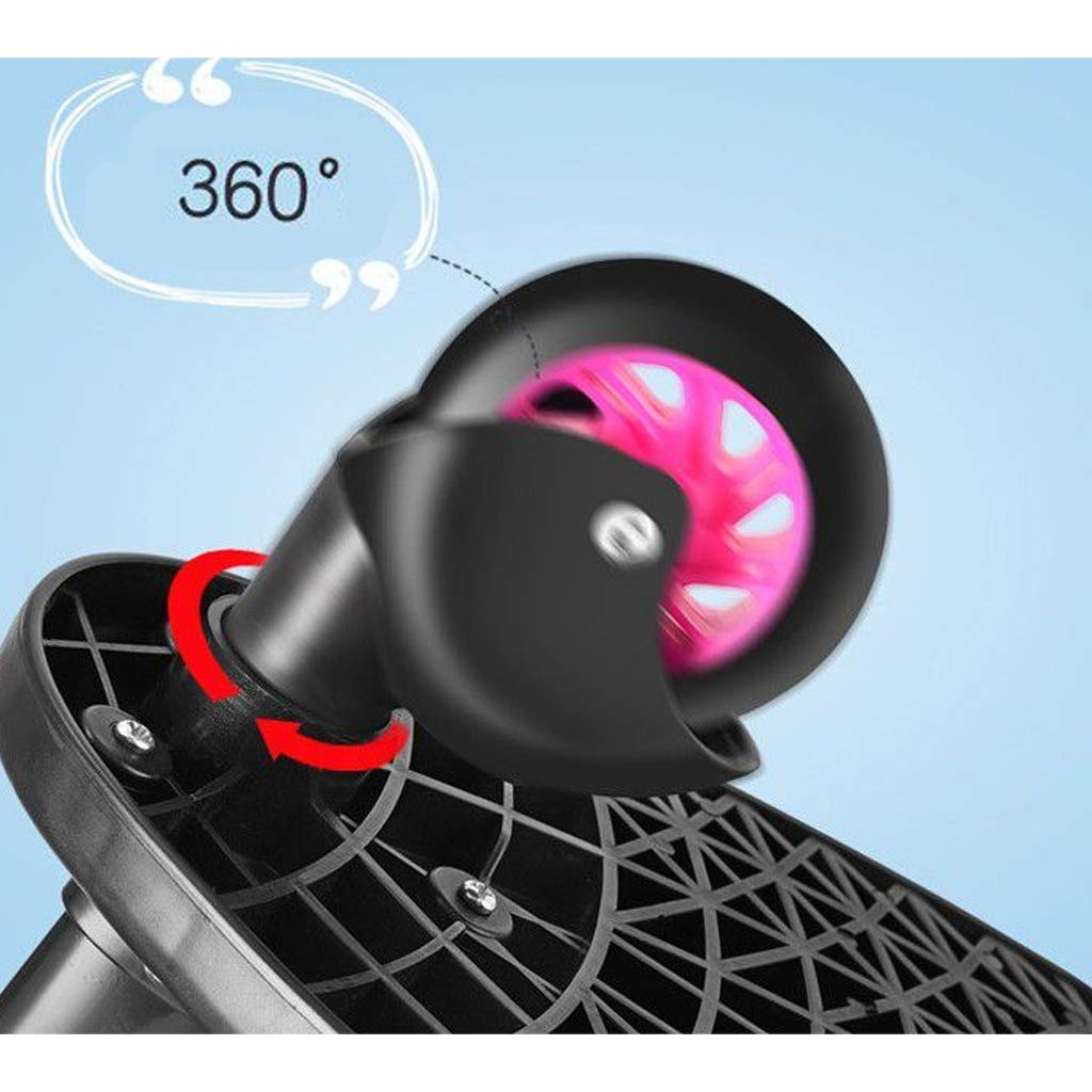 DGDG Buggy Board,Auxiliary Universal Pedal Baby Stroller Accessories Compatibility Up to 99% Pink Wheels, Black by DGDG (Image #4)