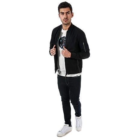 Veste Bomber Homme Vêtements Coton Pretty Noir Et Green 58aRqnwnz