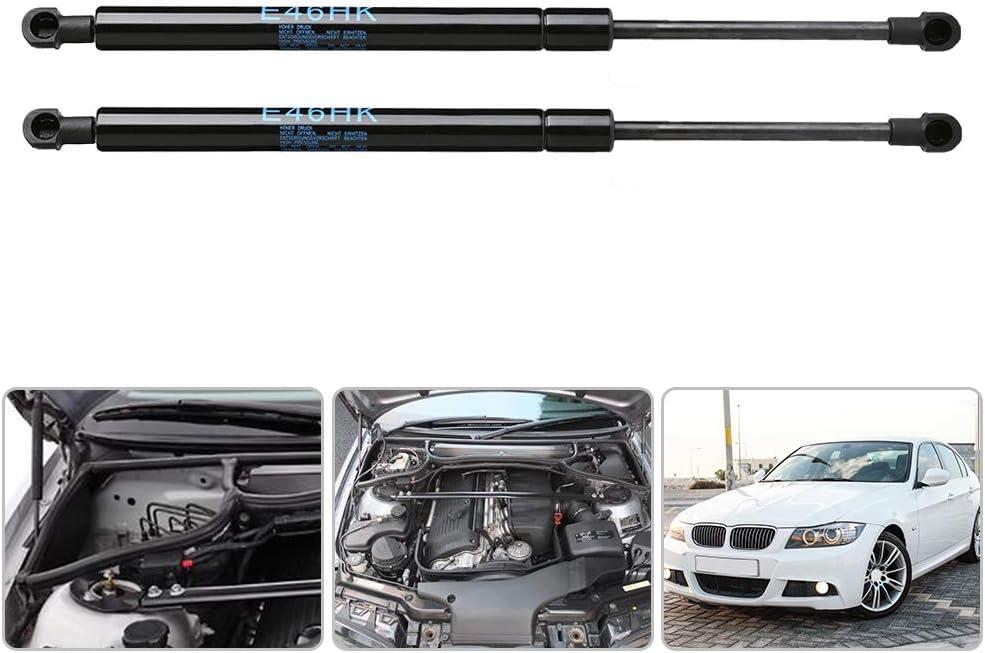 Gorgeri Support de v/érin anti-retour de v/érin /à gaz pour coffre arri/ère de voiture 1 paire Supports de Hayon E46 323 325 328 330 M3