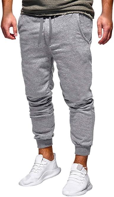 VPASS Pantalones para Hombre, Espesar Pantalones Casuales ...