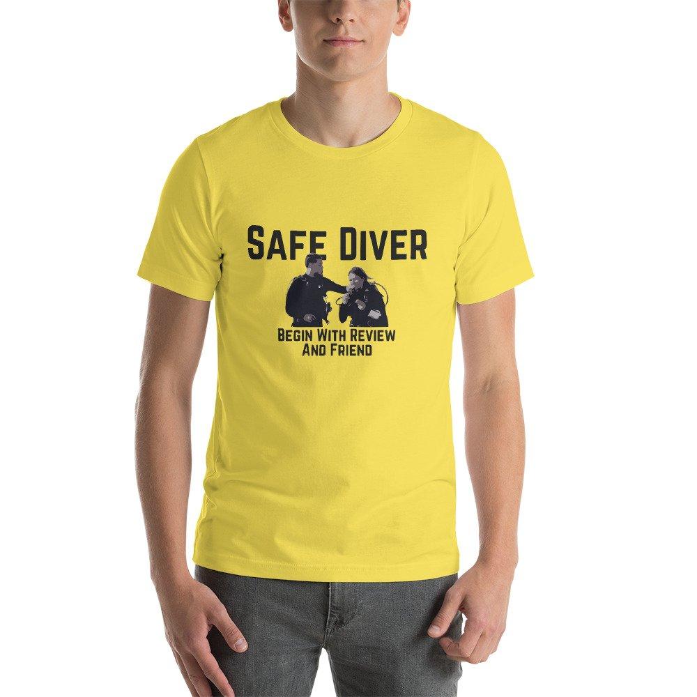 Yes Divers Safe Diver T-Shirt