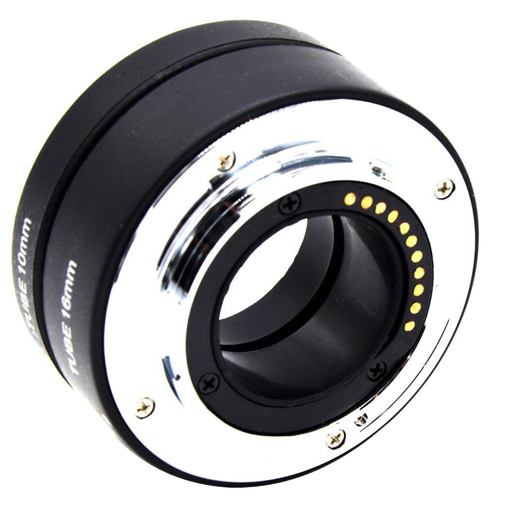 MagiDeal Anillo de Tubo de Extensió n Automá tica M4 / 3 Macro para Olympus Panasonic DRLS Cá mara Accesorio para Fotografia