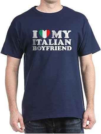 Amazon.com: CafePress I Love My Italian Boyfriend 100%