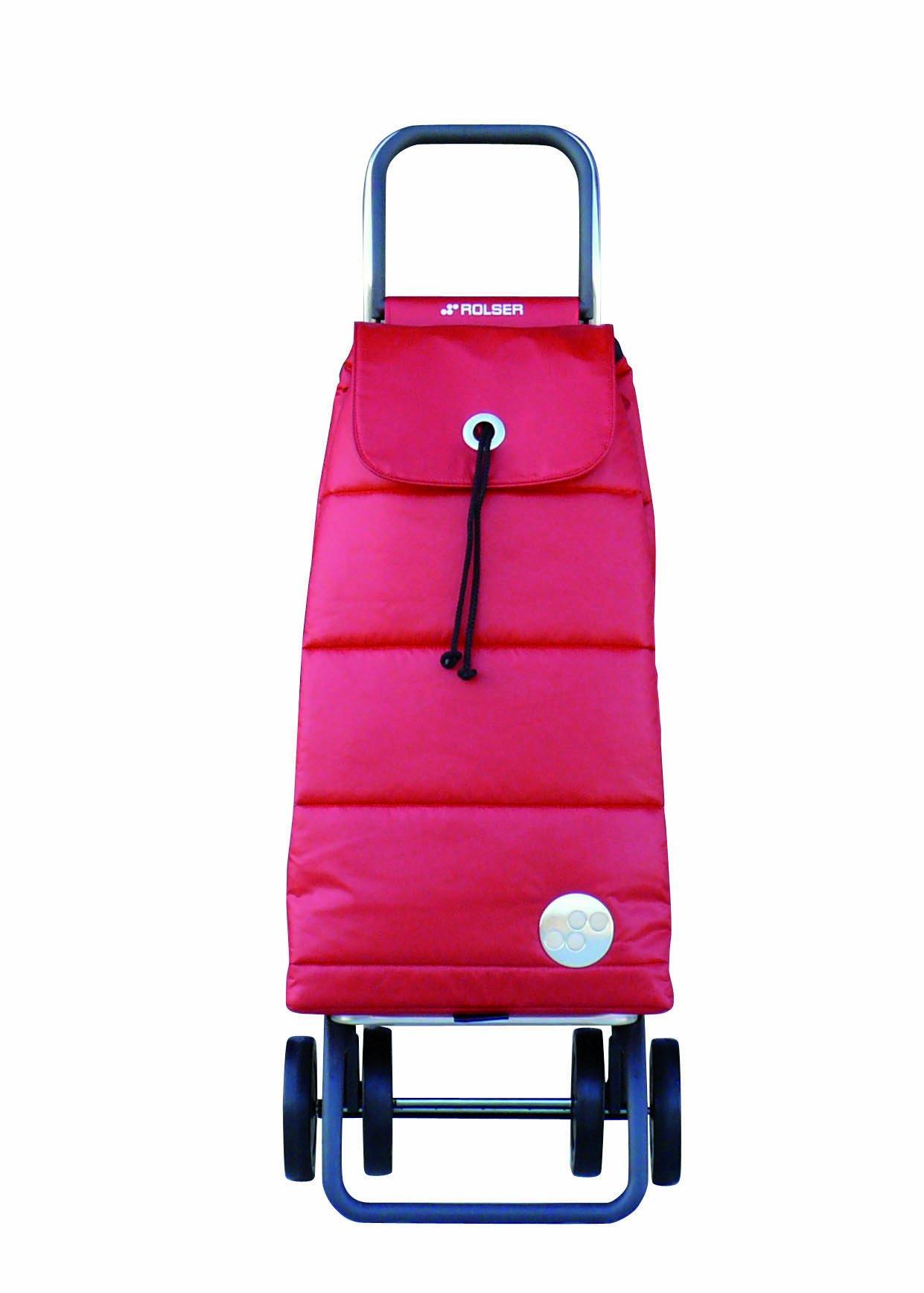 Rolser Pack Polar Logic Shopping Trolley, Rojo