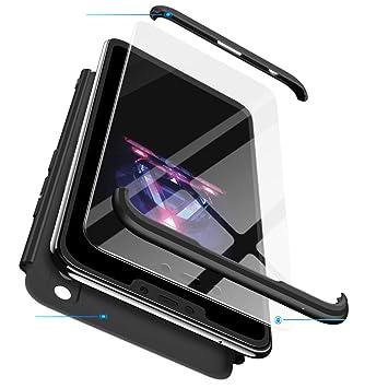 sigua Funda Compatible Huawei Honor 8X, 3 in 1 Slim Fit Protectora ...