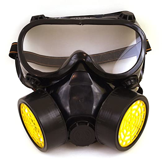 costume chemical gas mask