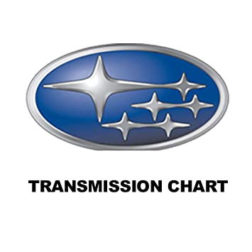 Amazon Com Subaru Transmission Chart Appstore For Android