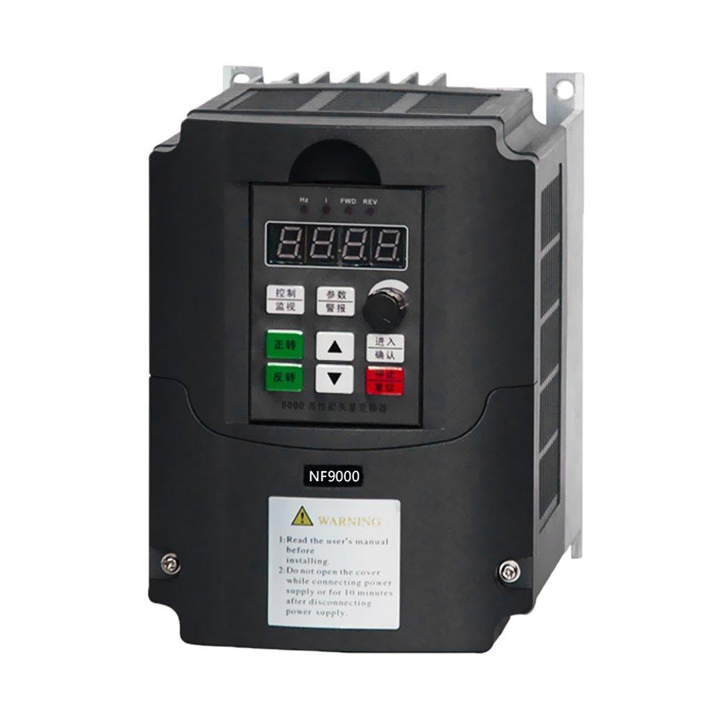 GRALARA 周波数変換 インバータ ベクトル 制御 1.5KW 380V 3相   B078XD7FRV