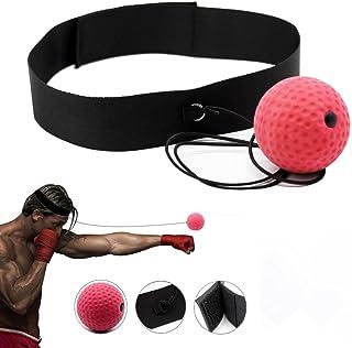 Cotrdocigh Bandeau d'entraînement à la main avec balle pour travailler la coordination œil-main afin d'améliorer la vitesse de réaction, pour entraînement et fitness pour entraînement et fitness