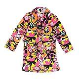 Tweenklz Big Girls' ''Owl'' Fleece Robe Medium