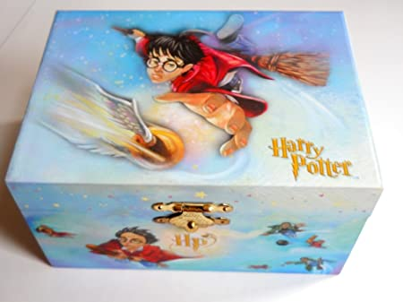 Harry Potter Musical Jewelry Box Capturing the Golden Snitch Amazon