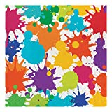 Creative Converting 317267 16Count Paper Lunch Napkins, Art Party