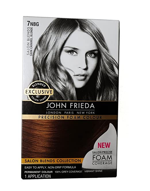 John Frieda Precision Foam Colour 7Nbg Dk. Caramel Blonde (2 Pack): Amazon.com: Grocery & Gourmet Food