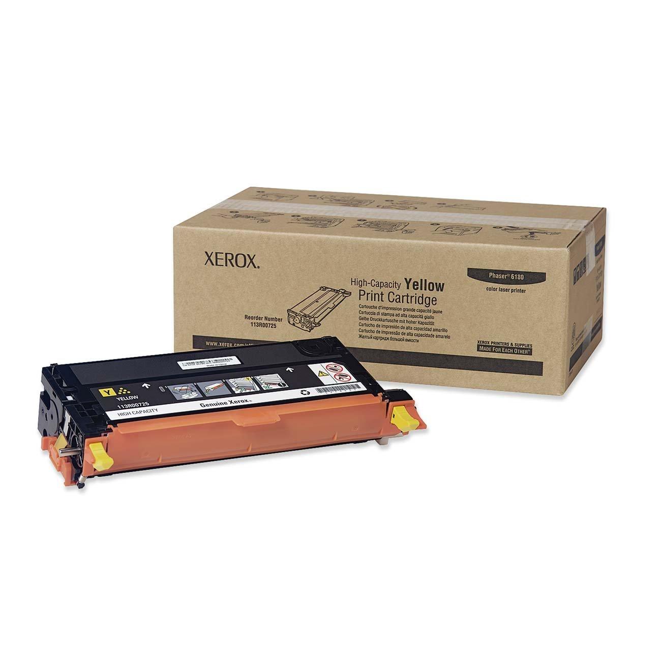 Toner Original XEROX 113R00725 Phaser 6180 (Yellow)