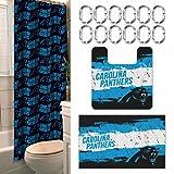 Northwest NFL Carolina Panthers 15 Piece Bath Set