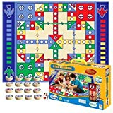 Lopkey Home Flying Airplane Carpet Chess for 2~4 People Classic Game Soft Play Mat Kids Baby Rug