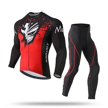 Pinjeer 2018 Spring Autumn Mask Monster Pattern Printing Men s Cycling  Jersey Clothing 624606759