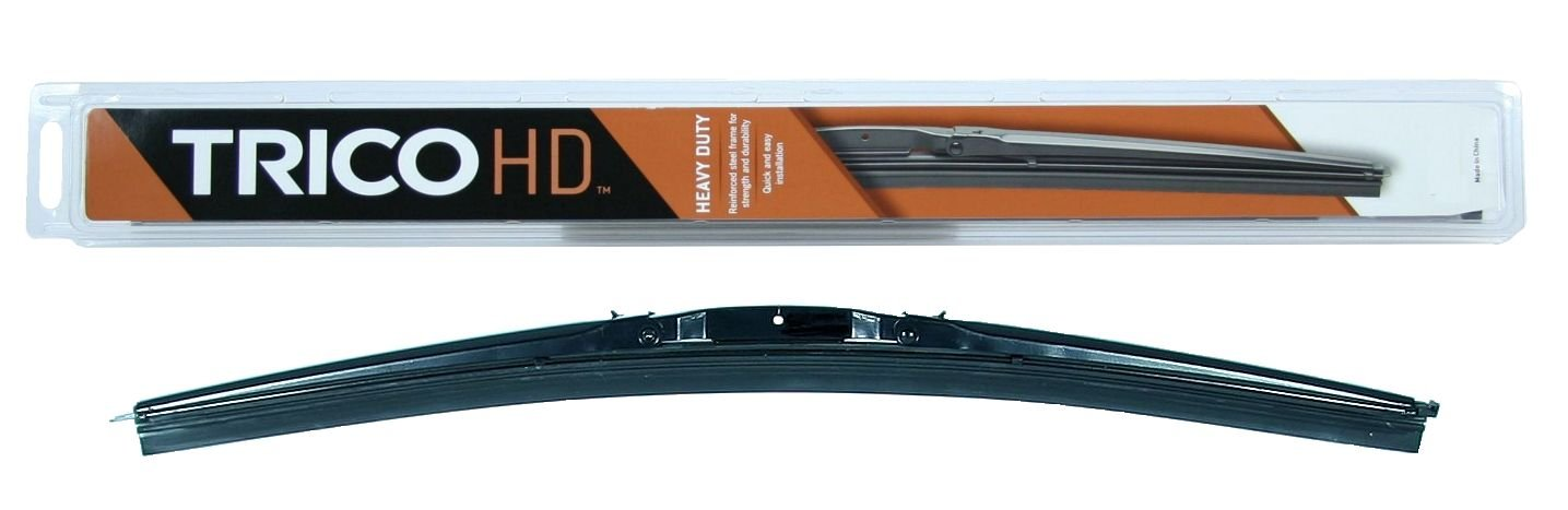 Trico 64-181 64 Series Heavy Duty Black 3 Bar Wiper Blade for Curved Windshields, 18'' (Pack of 1)