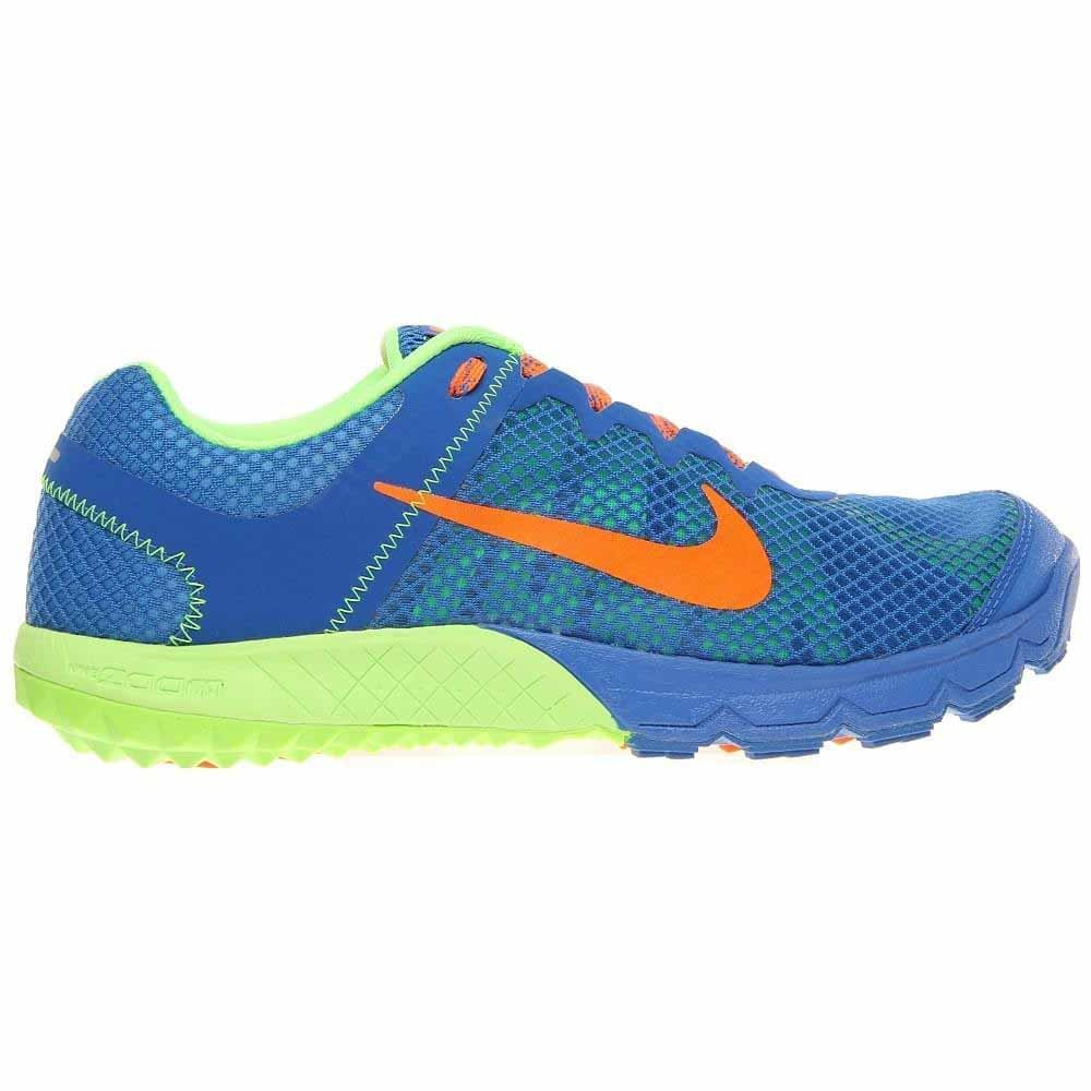 buy popular 8abc5 98463 Amazon.com   Nike Mens Zoom Wildhorse Running Shoe Prize Blue Flash Lime Total  Orange Size 6.5   Running