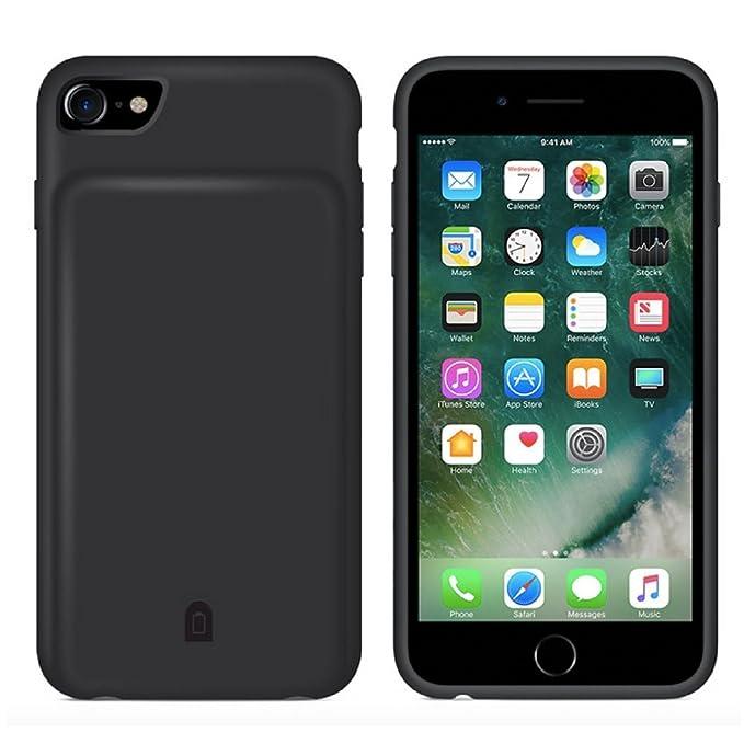 Carcasa para iPhone 8 Plus/7 Plus, batería de 7000 mAh ...