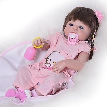Amazon.es: Muñecas de bebé reborn de 23 pulgadas de vinilo de ...