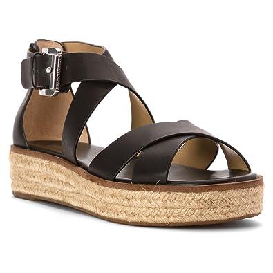 08bc12bcdbe MICHAEL Michael Kors Women s Darby Sandal Sandals Black Size  Small ...