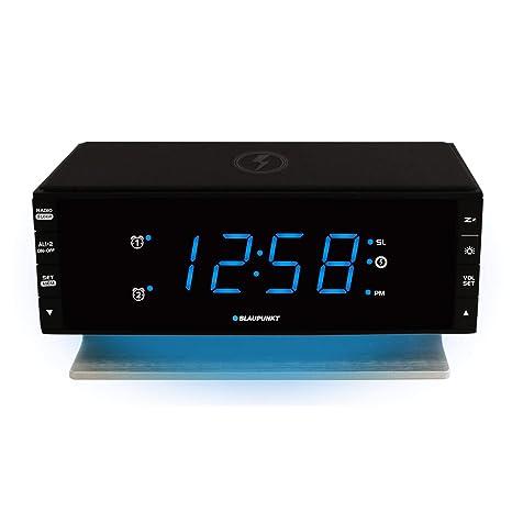Blaupunkt CR55CHARGE - Radio (Reloj, Digital, FM,PLL, LED, Negro