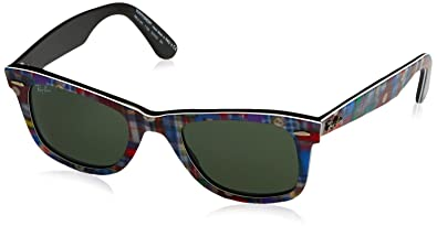 b80c2a4190 Image Unavailable. Image not available for. Color  Ray Ban Women s RB 2140  1135 Multicolor   Green 50mm Sunglasses