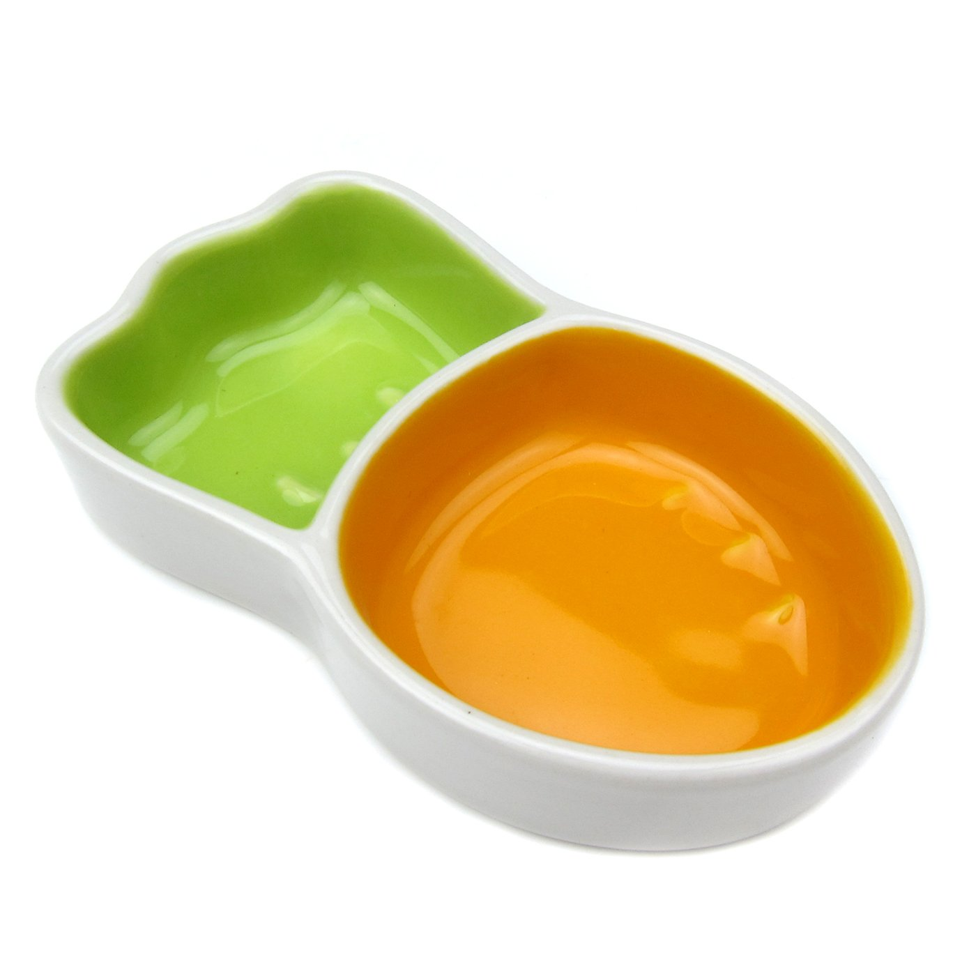 Alfie Pet by Petoga Couture - Rhys Ceramic Food and Water Bowl for Small Animals like Dwarf Hamster and Mouse