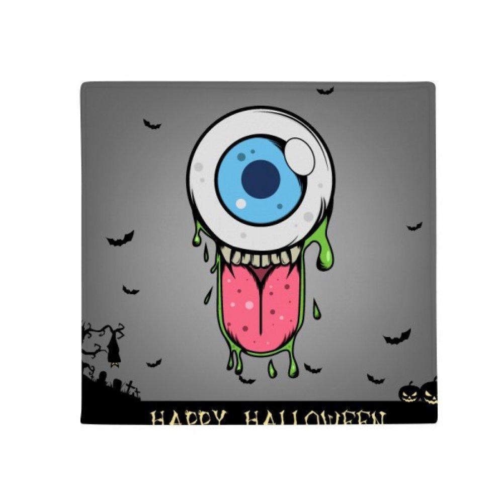 DIYthinker Universe and Alien Halloween Monster Anti-Slip Floor Pet Mat Square Home Kitchen Door 80Cm Gift