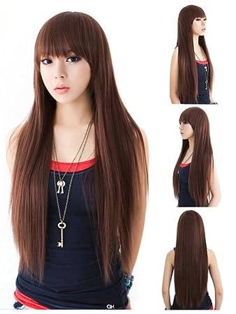 Amazon Com Abing Wigs For Women Fashion Girl S 26 Long Straight
