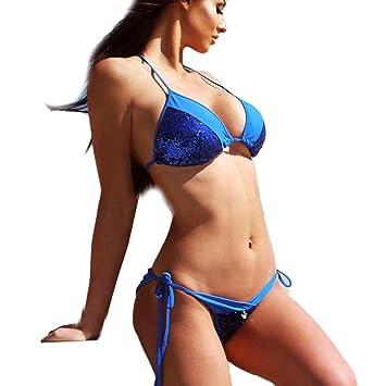 3b78fc948 Women's Bandage Bikini Set Push-up Padded Bra Swimsuit Bathing Suit Swimwear  Available In UK