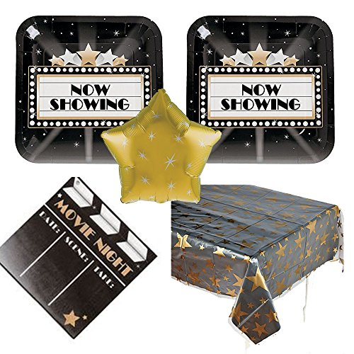 Movie Night Party Supplies tablecover