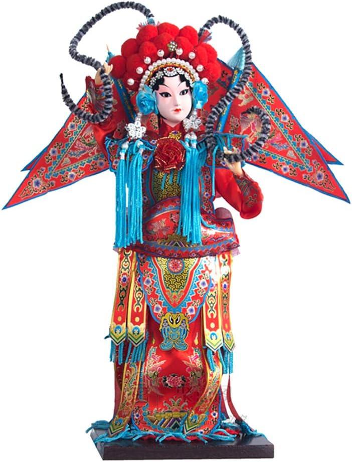 Amybds Mu Guiying Statua Cinese Caratteristica Mestiere Regalo Pechino Musica Lirica Facciale Trucco Bambola Regalo Scatola