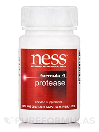 Amazon.com: Ness Enzymes - Protease #4 90 caps [Health and ...