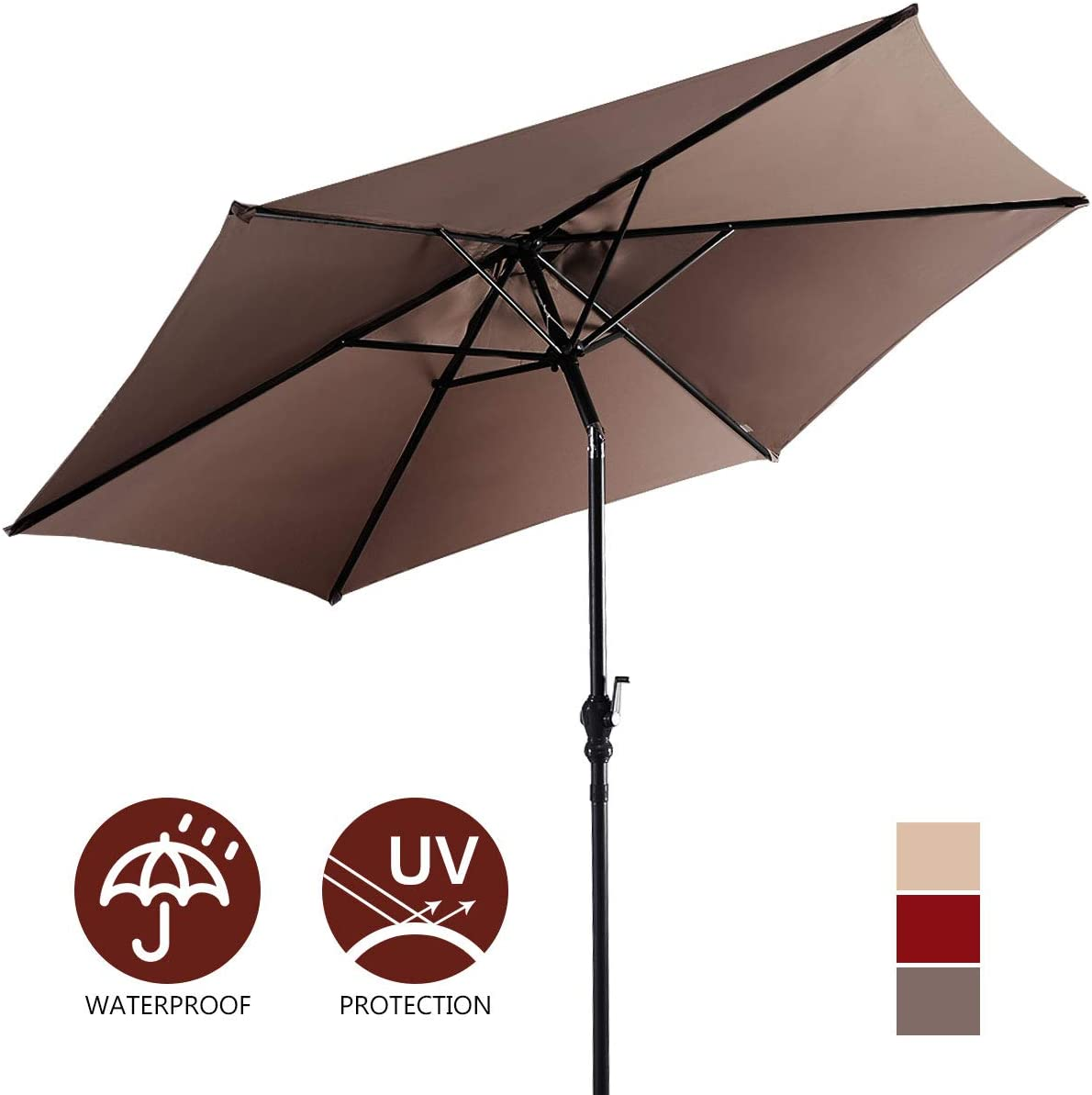 Giantex 9ft Patio Umbrella Outdoor