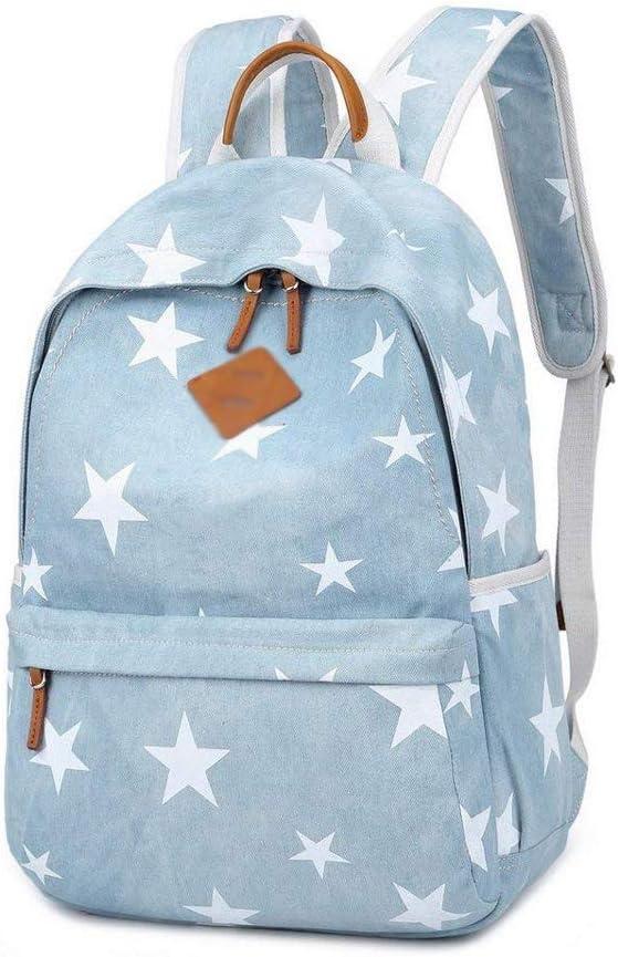 TLMY Student Print Backpack Backpack Backpack Backpack Backpack Color : B