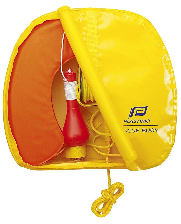 Plastimo Rescue Buoy Giallo Boa Fuoco Unisex Adulto Arancione