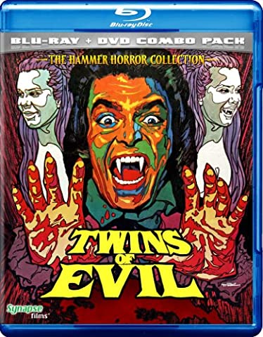 Twins Of Evil (Blu-ray/DVD Combo Pack) (Evil Twin)