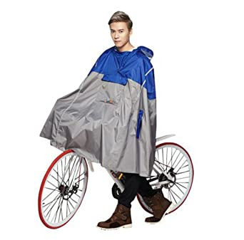 Sudatek New Lightweight Cycling Rain Poncho Bike