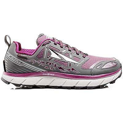 Altra Footwear Women's Lone Peak 3.0 Neoshell Trail Running Shoe, Gray/Purple, US | Trail Running