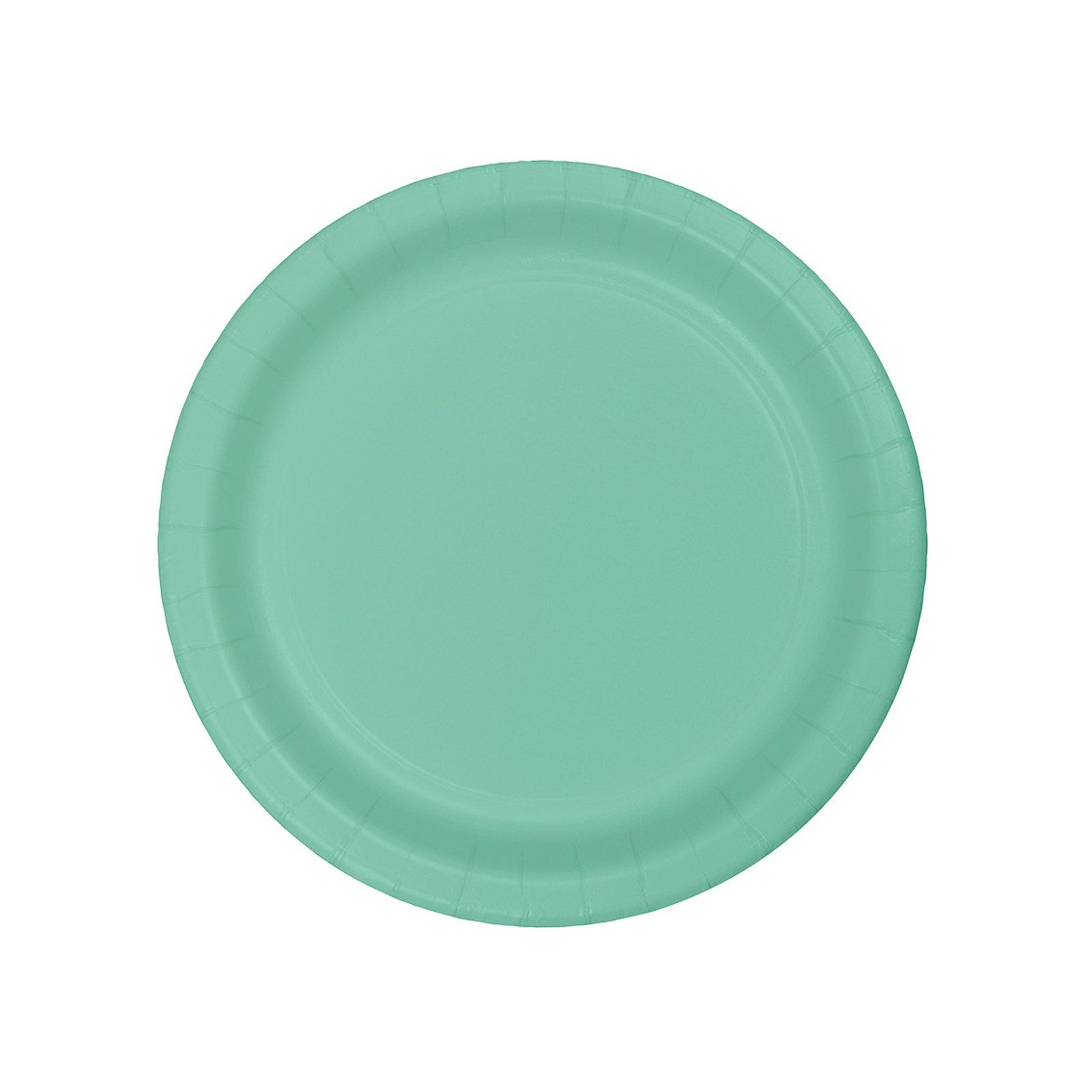 Mint Party Supplies Dessert Plate (48)