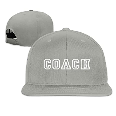 fboylovefor Coach Shirt New Solid Flat Bill Hip Hop Snapback ...