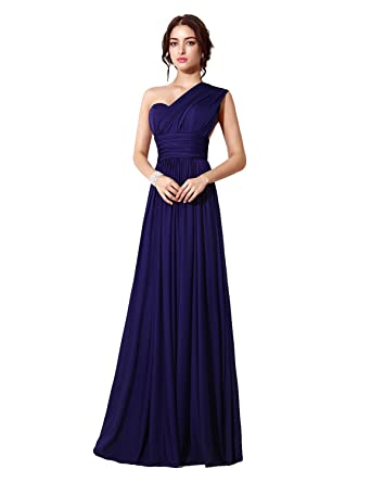 Clearbridal Women\'s Variable Neck Bridesmaid Dress Formal Long ...