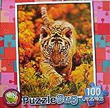 PuzzleBug 100 Piece Puzzle ~ Curious Tiger Cub