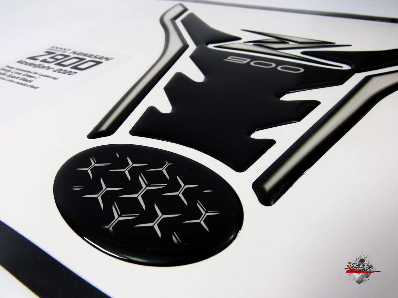 BIKE-label 502930 Tank Pad Transparent Black Tank Protector ...