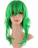 amazoncom 18quot green amp yellow cosplay wig vocaloid
