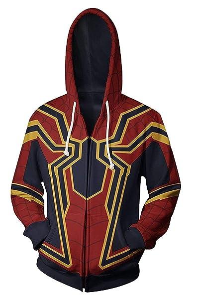 Amazon.com: W YU - Sudadera con capucha para disfraz de ...